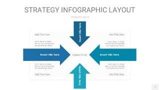 铁蓝色战略计划统筹PPT信息图1