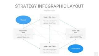 蓝色战略计划统筹PPT信息图3
