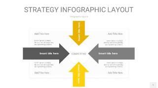 灰黄色战略计划统筹PPT信息图1