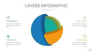 多彩3D分层PPT信息图43