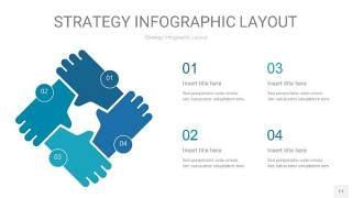 铁蓝色战略计划统筹PPT信息图11