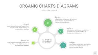 绿色循环PPT图表17