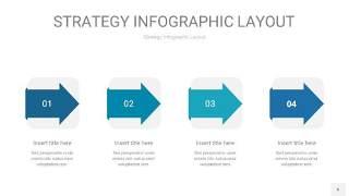 铁蓝色战略计划统筹PPT信息图6