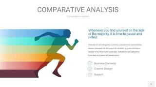 蓝绿用户人群分析PPT图表6