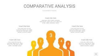 黄色用户人群分析PPT图表10