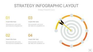 黄色战略计划统筹PPT信息图26