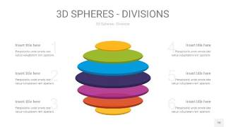 多彩3D球体切割PPT信息图10
