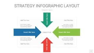 四色战略计划统筹PPT信息图1