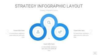 蓝色战略计划统筹PPT信息图17