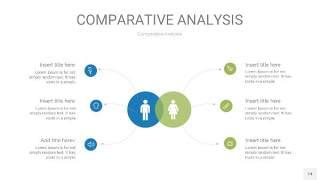 蓝绿用户人群分析PPT图表14