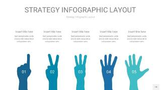 铁蓝色战略计划统筹PPT信息图14