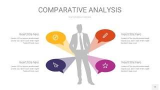 彩色用户人群分析PPT图表13