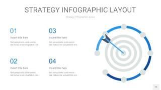 蓝色战略计划统筹PPT信息图26