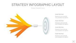 黄色战略计划统筹PPT信息图27