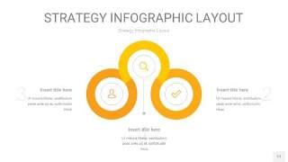 黄色战略计划统筹PPT信息图17
