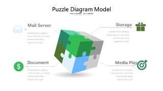 绿色立体创意PPT图表15