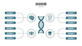 蓝色医疗医院用PPT图表11