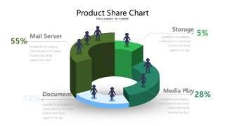 绿色立体创意PPT图表22