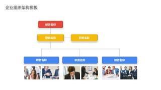 企业组织架构图PPT-12