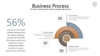 咖啡色思维导图PPT信息可视化图表14