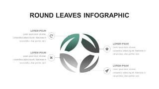灰绿色创意图形PPT信息可视化图表12