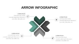 灰绿色创意图形PPT信息可视化图表17