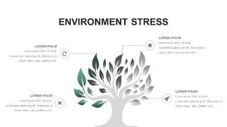 灰绿色创意图形PPT信息可视化图表29