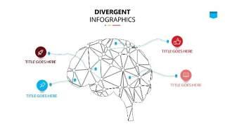 彩色思维导图逻辑PPT信息可视化图表30