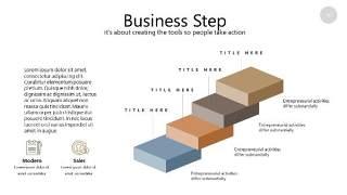 咖啡色思维导图PPT信息可视化图表36