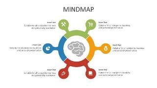 多彩思维导图PPT信息可视化创意图表38