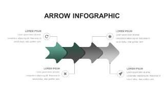 灰绿色创意图形PPT信息可视化图表14
