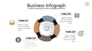 咖啡色思维导图PPT信息可视化图表32
