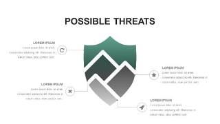 灰绿色创意图形PPT信息可视化图表26