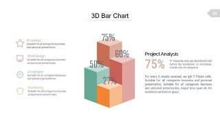 浅色系百分比PPT信息可视化图表26