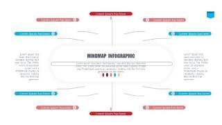 彩色思维导图逻辑PPT信息可视化图表13