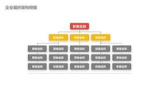 企业组织架构图PPT-11