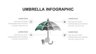 灰绿色创意图形PPT信息可视化图表11