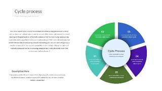 紫绿色饼状PPT信息可视化图表26