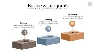 咖啡色思维导图PPT信息可视化图表19