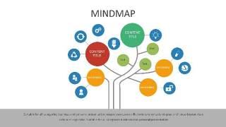 多彩思维导图PPT信息可视化创意图表29