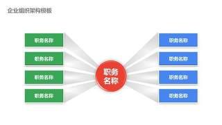 企业组织架构图PPT-16