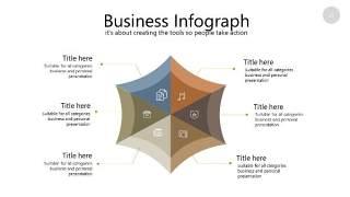 咖啡色思维导图PPT信息可视化图表25