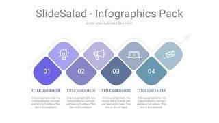 紫蓝色并列关系PPT信息可视化图表7