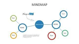 多彩思维导图PPT信息可视化创意图表25