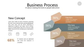咖啡色思维导图PPT信息可视化图表13
