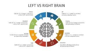 多彩思维导图PPT信息可视化创意图表32