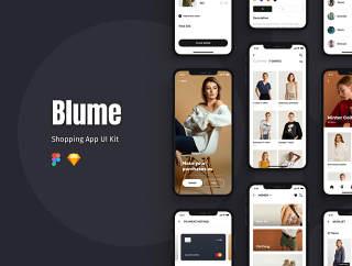 UI工具包来创建你的购物应用,布鲁姆 - 购物应用UI工具包