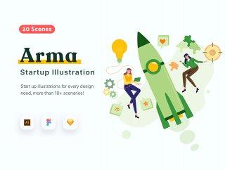 20个独特的场景和Customable,ARMA启动了20个场景插图