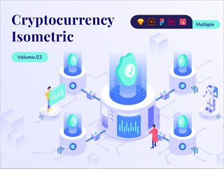 Cryptocurrency业务等距套件Vol.03,Cryptocurrency业务等距包Vol.03