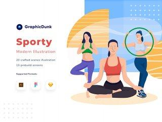 现代体育插图,运动 - 现代体育插图